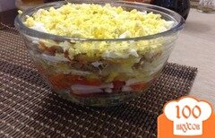 Фото рецепта: «теплый салат»