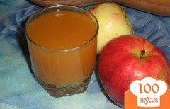Фото рецепта: «Тыквенно-яблочный сок»