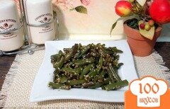 Фото рецепта: «Спаржевая фасоль с сезамом»