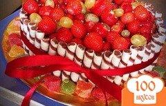 Фото рецепта: «Торт без выпечки»