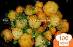 Фото рецепта: «Картошечка по-деревенски»