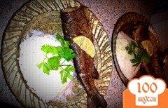 Фото рецепта: «Жаренная форель с золотистой корочкой»