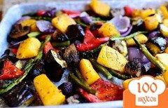 Фото рецепта: «Овощи на гриле»