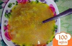 Фото рецепта: «Суп из говядины с рисом»