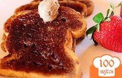 Фото рецепта: «Сладкие гренки»