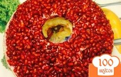 Фото рецепта: «Гранатовый браслет»