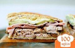 Фото рецепта: «Лос кубаньос - кубинские сэндвичи»