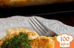 Фото рецепта: «Картофель, запеченный с сыром»