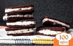 Фото рецепта: «Классический сэндвич-мороженое»