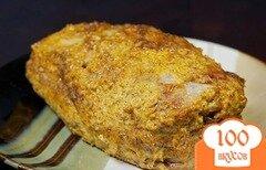 Фото рецепта: «Свинина, запеченная с майонезом и специями»