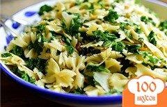 Фото рецепта: «Макароны с зеленью»