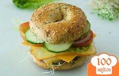 Фото рецепта: «Бутерброды на скорую руку»