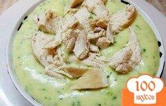 Фото рецепта: «Картофельное пюре на мясном бульоне с зеленью»