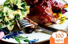 Фото рецепта: «Курица в кисло сладком соусе»