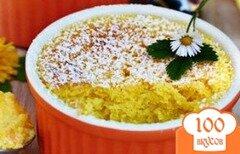 Фото рецепта: «Лимонно-бисквитный десерт»
