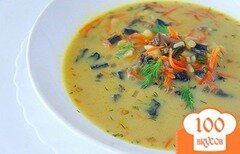 Фото рецепта: «Суп из сушеных грибов»