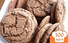 Фото рецепта: «Имбирное печенье»