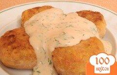 Фото рецепта: «Постные крабово-картофельные биточки»