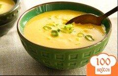 Фото рецепта: «Сырный суп с грибами и луком-порей»