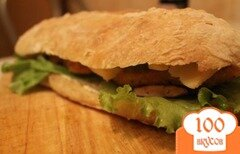 """Фото рецепта: «Сэндвич """"Панини""""»"""