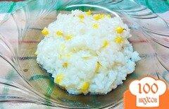 Фото рецепта: «Рис с розмарином и кукурузой»