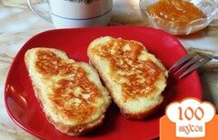 Фото рецепта: «Гренки с сыром»