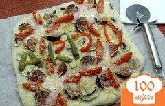 Фото рецепта: «Пицца с инжиром»