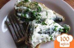 Фото рецепта: «Жареная скумбрия»