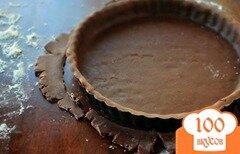 Фото рецепта: «Шоколадное тесто для пирога»
