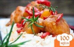 Фото рецепта: «Курица в кисло-сладком соусе по-китайски»