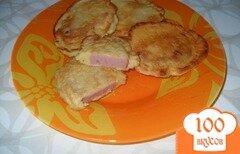 Фото рецепта: «Колбаса в кляре»