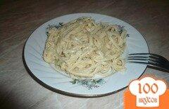 Фото рецепта: «Макароны с хумусом»