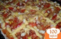 Фото рецепта: «Пицца с очень тонким тестом»