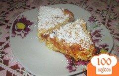 Фото рецепта: «Творожная запеканка с тыквой, яблоками и изюмом»