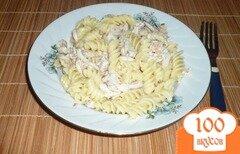 Фото рецепта: «Макароны с отварной курицей»