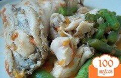 Фото рецепта: «Курица с зелёной фасолью»
