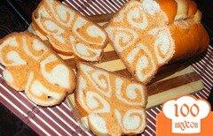 Фото рецепта: «Рулетный хлеб»