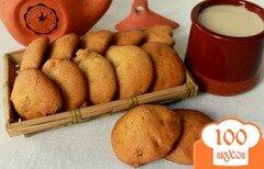 Фото рецепта: «Медовое печенье с имбирем»