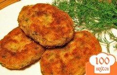 Фото рецепта: «Картофельно-куриные котлеты»