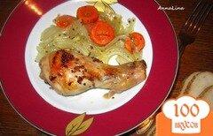 Фото рецепта: «Куриные голени в лимонно-горчичном маринаде»