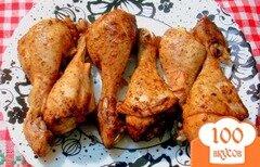 Фото рецепта: «Куриные голени копчёные»