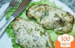 Фото рецепта: «Запеченные куриные грудки с травами»