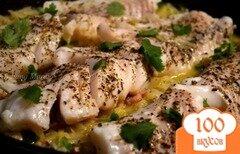Фото рецепта: «Рыба с гарниром из капусты»
