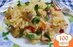 Фото рецепта: «Рисовая каша с фасолью в мультиварке»