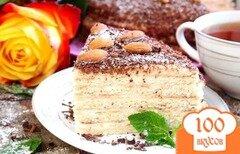 Фото рецепта: «Сметанный торт на сковороде»