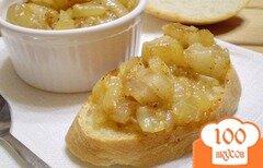 Фото рецепта: «Жареный лук с салом и паприкой»
