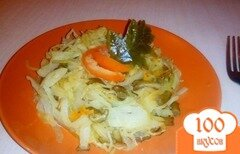 Фото рецепта: «Вегетарианский бигус»