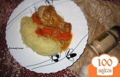 Фото рецепта: «Куриные голени с арахисовым соусом»