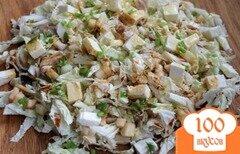 Фото рецепта: «Салат из пекинской капусты и курицы»