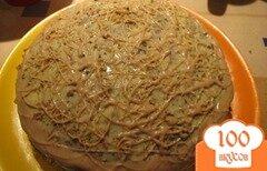 """Фото рецепта: «Торт """"Негр в пене""""»"""